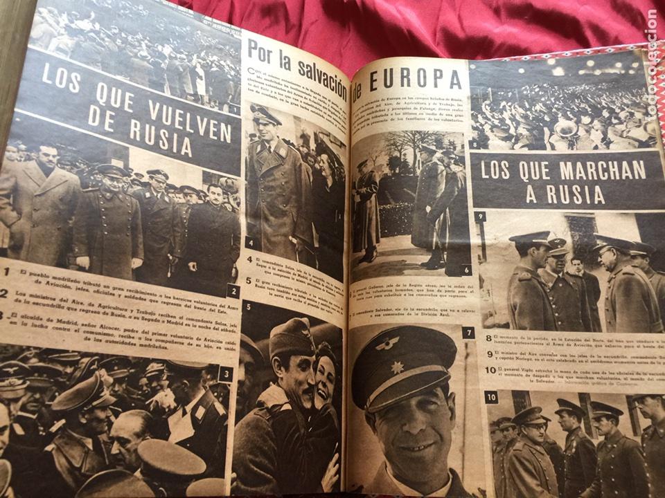 Coleccionismo de Revistas y Periódicos: Tomo colección revistas semana año 1940 - Foto 7 - 133457367