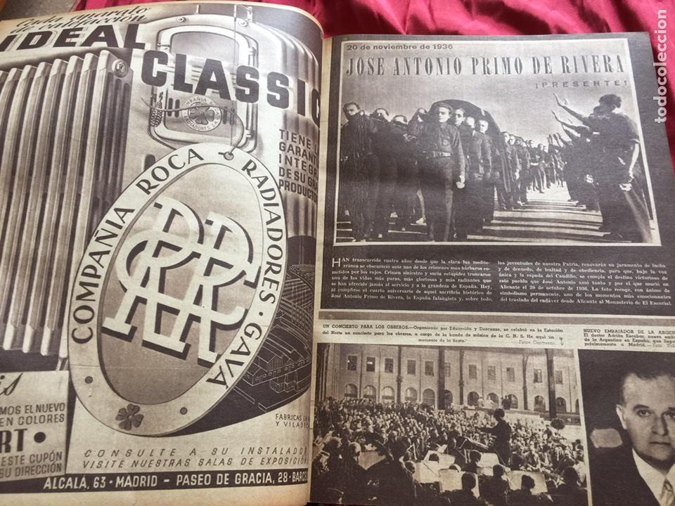 Coleccionismo de Revistas y Periódicos: Tomo colección revistas semana año 1940 - Foto 9 - 133457367