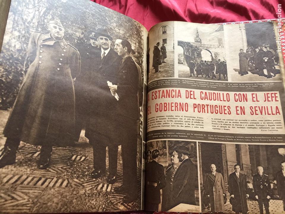 Coleccionismo de Revistas y Periódicos: Tomo colección revistas semana año 1940 - Foto 10 - 133457367