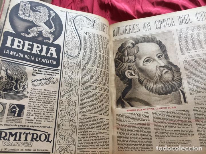 Coleccionismo de Revistas y Periódicos: Tomo colección revistas semana año 1940 - Foto 11 - 133457367