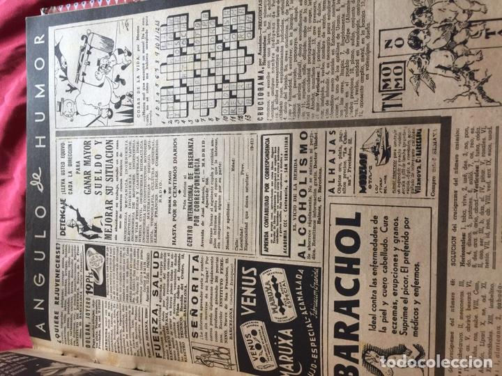 Coleccionismo de Revistas y Periódicos: Tomo colección revistas semana año 1940 - Foto 12 - 133457367