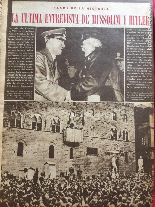 Coleccionismo de Revistas y Periódicos: Tomo colección revistas semana año 1940 - Foto 18 - 133457367