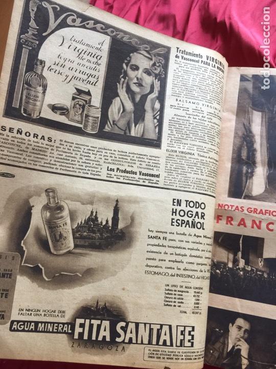 Coleccionismo de Revistas y Periódicos: Tomo colección revistas semana año 1940 - Foto 30 - 133457367