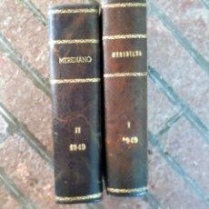 Coleccionismo de Revistas y Periódicos: REVISTA MERIDIANO SINTESIS DE LA PRENSA MUNDIAL AÑO 1949 2 TOMOS. Lote 133458422