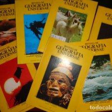 Coleccionismo de Revistas y Periódicos: REVISTA DE GEOGRAFÍA UNIVERSAL - 7 NÚMEROS - AÑO 1 VOL 1 Nº 1, 2, 3, 4, 5 Y 6 + AÑO 1 VOL 2 Nº 1. Lote 133572674