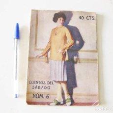 Coleccionismo de Revistas y Periódicos: CUENTOS DEL SÁBADO. Nº 6. 5 DE FEBRERO DE 1927. . Lote 133576106