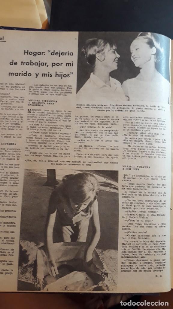 Coleccionismo de Revistas y Periódicos: MARISOL PEPA FLORES - Foto 5 - 133592734