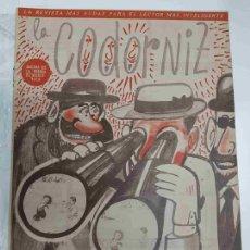 Coleccionismo de Revistas y Periódicos: REVISTA LA CODORNIZ: NUM 0975, AÑO XX, 24 DE JULIO DE 1960 - VERANO 1960. Lote 133600209