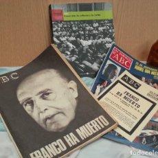 Coleccionismo de Revistas y Periódicos: REVISTAS Y LIBRO SOBRE FRANCO. AÑOS 70. Lote 133622430