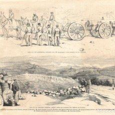 Coleccionismo de Revistas y Periódicos: LA ILUSTRACIÓN ESPAÑOLA Y AMERICANA GUERRA CARLISTA 1874 (30 ABR) VIZCAYA, . Lote 133681394