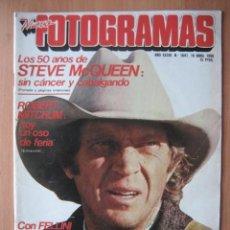 Coleccionismo de Revistas y Periódicos: FOTOGRAMAS Nº 1641 - 16 ABRIL 1980 , STEEVE MCQUEEN, ANA TORRENT, FELLINI, POSTER RICHARD BURTON. Lote 133824298