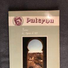 Coleccionismo de Revistas y Periódicos: PATERNA (VALENCIA) LIBRO DE FIESTAS. SANTÍSIMO CRISTO DE LA FE (1979€. Lote 133824975