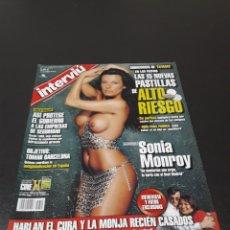 Coleccionismo de Revistas y Periódicos: INTERVIÚ. MARZO 2002. SONIA MONROY - CARMEN.. Lote 133826237