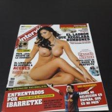 Coleccionismo de Revistas y Periódicos: INTERVIÚ. OCTUBRE 2007. HANNAH ÁLVAREZ.. Lote 133826457
