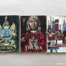 Coleccionismo de Revistas y Periódicos: LOTE DE TRES REVISTAS DE LA DIPUTACIÓN PROVINCIAL DE VIZCAYA . Lote 133827734