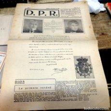 Coleccionismo de Revistas y Periódicos: BOLETÍN D.P.R, ORENTACION TRADICIONALISTA 1934 NUMS 1 AL 6 CARLISTA CARLISMO,6 EJEMPLARES, MUY RAROS. Lote 133834394