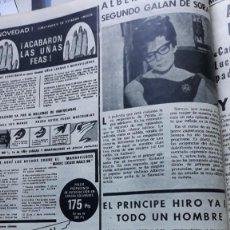 Coleccionismo de Revistas y Periódicos - PRINCESA SORAYA ACTRIZ HIROHITO - 133865026