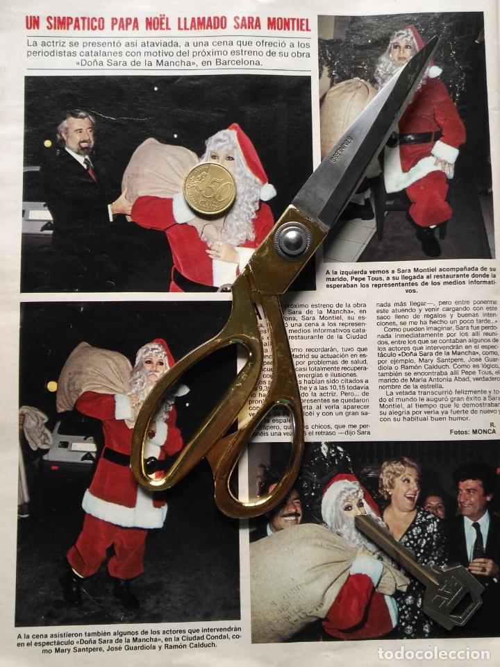 Fotos Simpaticas De Papa Noel.Hoja Sara Zara Zarita Sarita Montiel Vestida De Papa Noel Anos 80