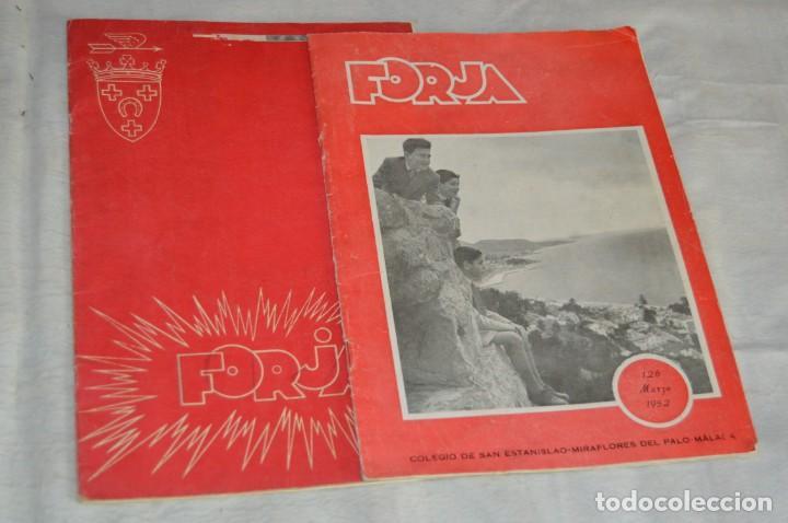 LOTE DE 2 ANTIGUAS REVISTAS - REVISTA FORJA - AÑOS 40 / 50 - ENVÍO 24H (Coleccionismo - Revistas y Periódicos Modernos (a partir de 1.940) - Otros)