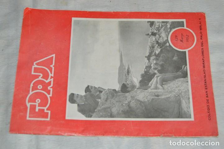 Coleccionismo de Revistas y Periódicos: LOTE DE 2 ANTIGUAS REVISTAS - REVISTA FORJA - AÑOS 40 / 50 - ENVÍO 24H - Foto 2 - 133912946