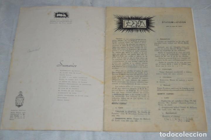 Coleccionismo de Revistas y Periódicos: LOTE DE 2 ANTIGUAS REVISTAS - REVISTA FORJA - AÑOS 40 / 50 - ENVÍO 24H - Foto 10 - 133912946