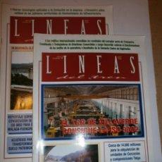 Coleccionismo de Revistas y Periódicos: REVISTAS LINEAS DEL TREN Nº 158 Y 160. Lote 133923882