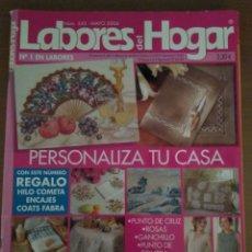Coleccionismo de Revistas y Periódicos: LABORES DEL HOGAR N. 543 MAYO 2004 PUNTO DE CRUZ. Lote 134027955
