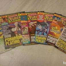 Coleccionismo de Revistas y Periódicos: LOTE REVISTAS POKEMON. NINTENDO ACCIÓN. VIDEOJUEOS. Lote 134099590