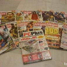 Coleccionismo de Revistas y Periódicos: LOTE REVISTAS VIDEOJUEGOS PC. ORDENADOR. Lote 134099734