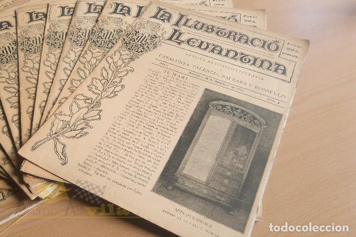Coleccionismo de Revistas y Periódicos: La Ilustració Llevantina - 18 exemplars - 1900 - 1901 - Foto 2 - 134196358