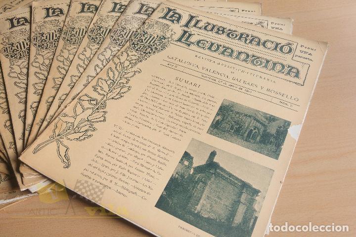Coleccionismo de Revistas y Periódicos: La Ilustració Llevantina - 18 exemplars - 1900 - 1901 - Foto 4 - 134196358