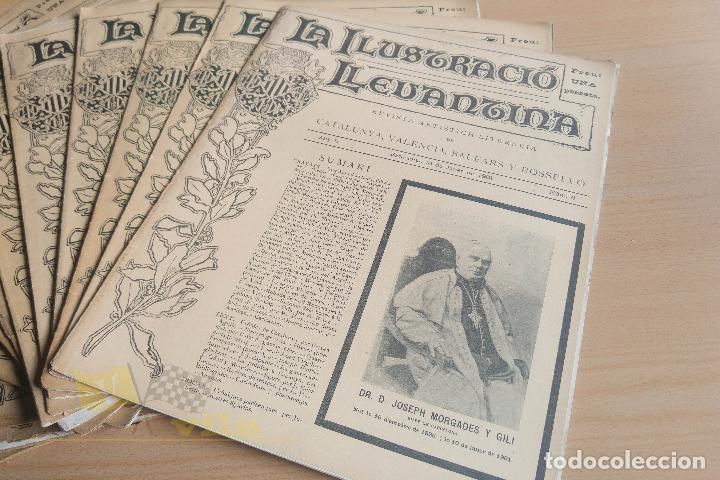 Coleccionismo de Revistas y Periódicos: La Ilustració Llevantina - 18 exemplars - 1900 - 1901 - Foto 5 - 134196358