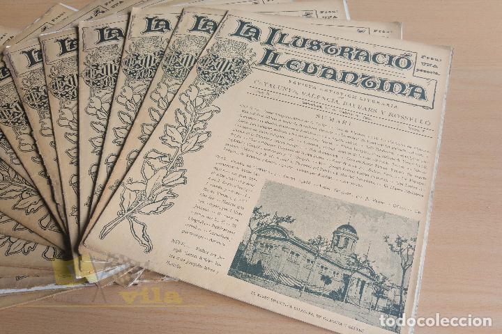Coleccionismo de Revistas y Periódicos: La Ilustració Llevantina - 18 exemplars - 1900 - 1901 - Foto 6 - 134196358