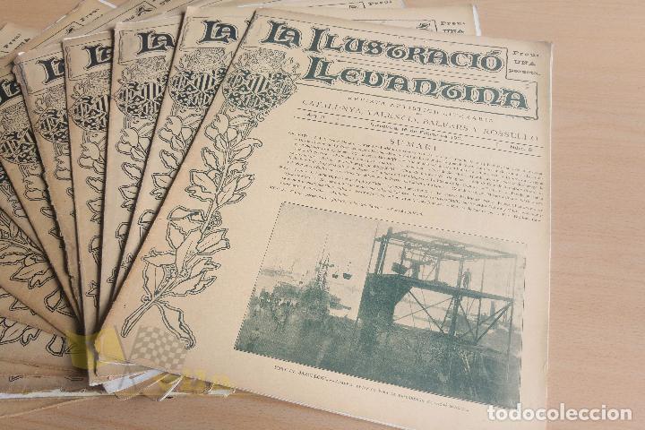 Coleccionismo de Revistas y Periódicos: La Ilustració Llevantina - 18 exemplars - 1900 - 1901 - Foto 7 - 134196358