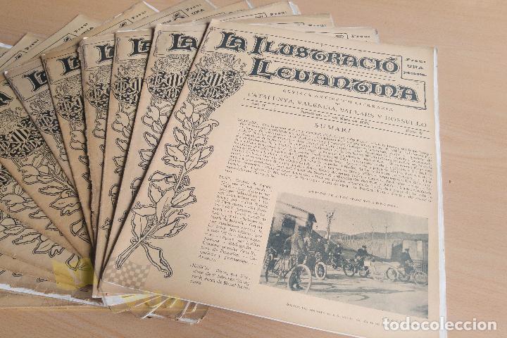 Coleccionismo de Revistas y Periódicos: La Ilustració Llevantina - 18 exemplars - 1900 - 1901 - Foto 8 - 134196358