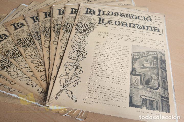 Coleccionismo de Revistas y Periódicos: La Ilustració Llevantina - 18 exemplars - 1900 - 1901 - Foto 9 - 134196358