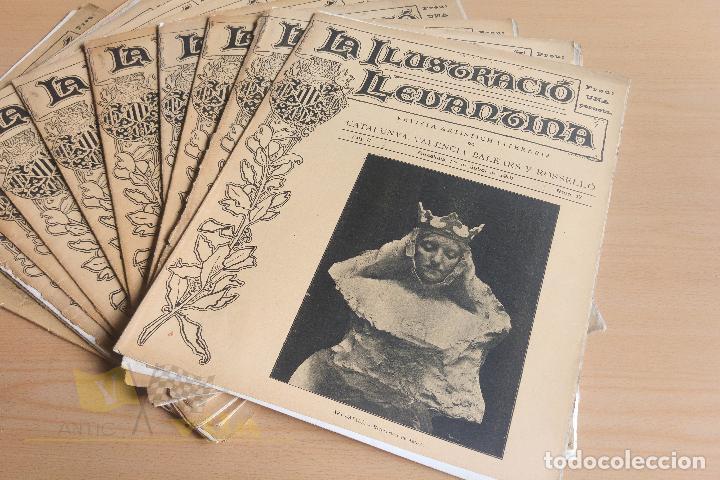 Coleccionismo de Revistas y Periódicos: La Ilustració Llevantina - 18 exemplars - 1900 - 1901 - Foto 10 - 134196358
