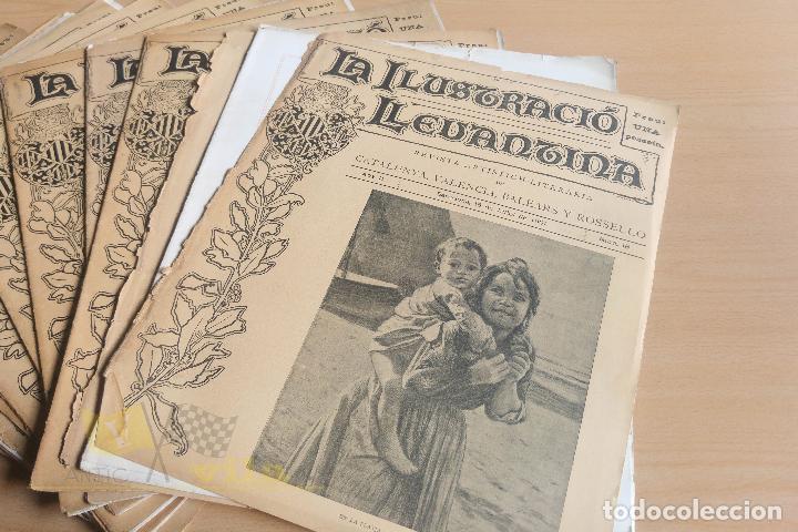 Coleccionismo de Revistas y Periódicos: La Ilustració Llevantina - 18 exemplars - 1900 - 1901 - Foto 11 - 134196358