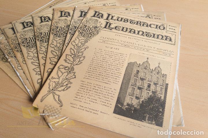 Coleccionismo de Revistas y Periódicos: La Ilustració Llevantina - 18 exemplars - 1900 - 1901 - Foto 12 - 134196358