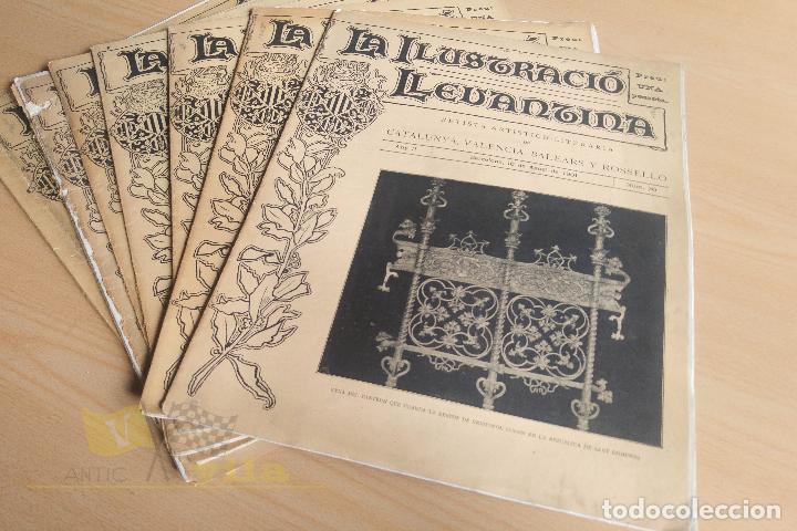 Coleccionismo de Revistas y Periódicos: La Ilustració Llevantina - 18 exemplars - 1900 - 1901 - Foto 13 - 134196358