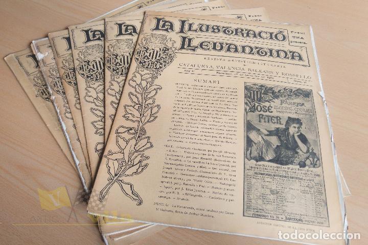 Coleccionismo de Revistas y Periódicos: La Ilustració Llevantina - 18 exemplars - 1900 - 1901 - Foto 14 - 134196358
