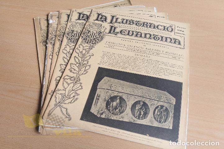 Coleccionismo de Revistas y Periódicos: La Ilustració Llevantina - 18 exemplars - 1900 - 1901 - Foto 15 - 134196358