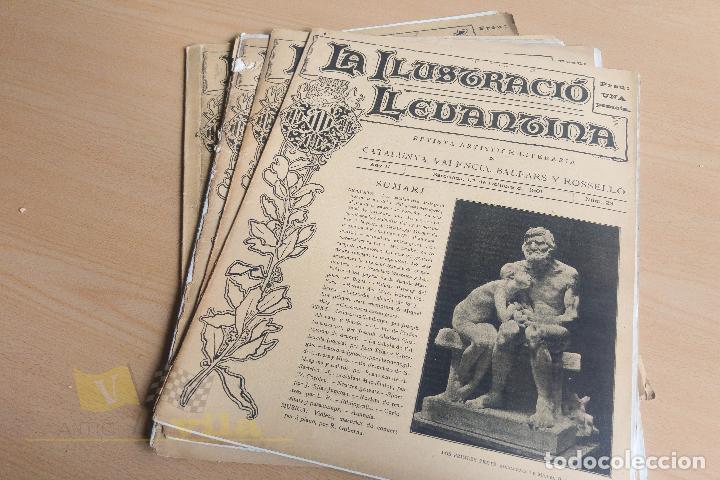 Coleccionismo de Revistas y Periódicos: La Ilustració Llevantina - 18 exemplars - 1900 - 1901 - Foto 16 - 134196358