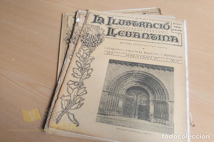 Coleccionismo de Revistas y Periódicos: La Ilustració Llevantina - 18 exemplars - 1900 - 1901 - Foto 17 - 134196358