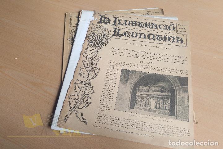 Coleccionismo de Revistas y Periódicos: La Ilustració Llevantina - 18 exemplars - 1900 - 1901 - Foto 18 - 134196358
