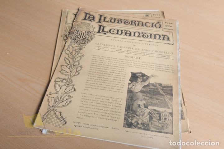 Coleccionismo de Revistas y Periódicos: La Ilustració Llevantina - 18 exemplars - 1900 - 1901 - Foto 19 - 134196358