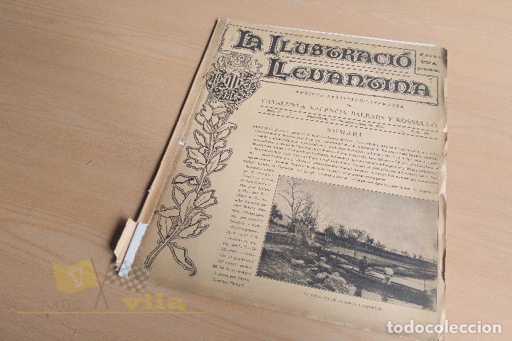 Coleccionismo de Revistas y Periódicos: La Ilustració Llevantina - 18 exemplars - 1900 - 1901 - Foto 20 - 134196358