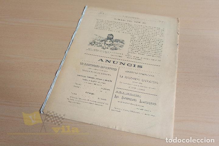 Coleccionismo de Revistas y Periódicos: La Ilustració Llevantina - 18 exemplars - 1900 - 1901 - Foto 21 - 134196358