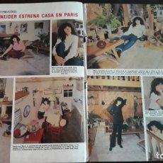 Coleccionismo de Revistas y Periódicos: MARIA SCHNEIDER . Lote 134241774