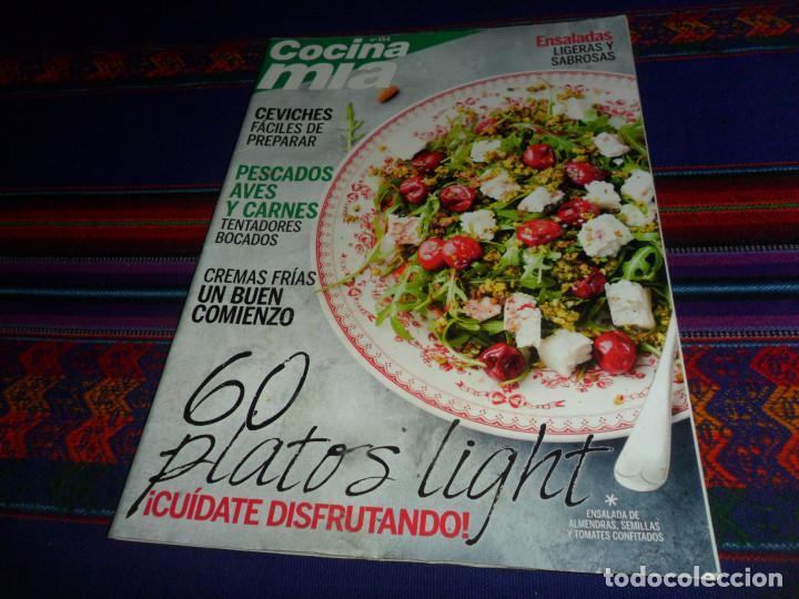 COCINA MÍA Nº 154 60 PLATOS LIGHT CEVICHES CREMAS FRÍAS. REGALO IDEAS COOK VERANO 2018 CORTE INGLÉS segunda mano